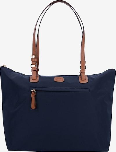 Bric's Handtas in de kleur Ultramarine blauw, Productweergave
