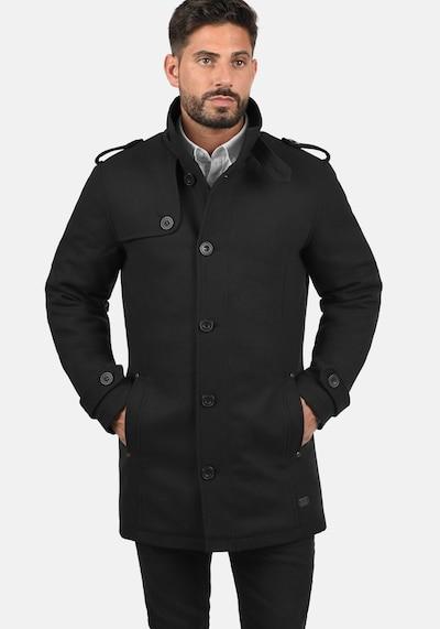 BLEND Winterjas 'Warren' in de kleur Zwart, Modelweergave