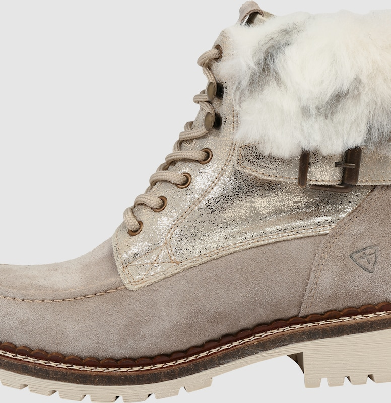 TAMARIS Schnürstiefelette aus Leder Günstige und langlebige Schuhe