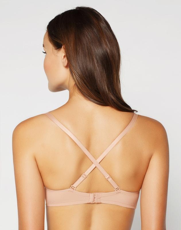 Bügel Underwear bh Nude Multifunktionaler Calvin Klein CqfwzfP