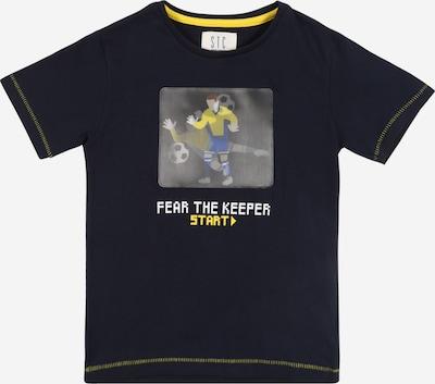 STACCATO Shirt in navy / gelb / grau / weiß, Produktansicht