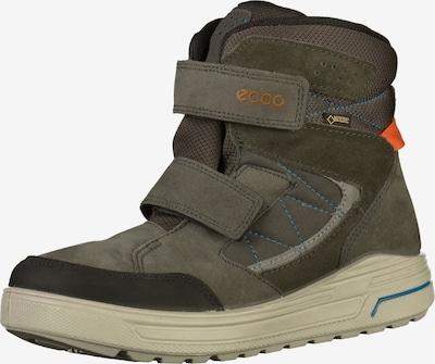 ECCO Snowboots in taupe / anthrazit / dunkelgrau / orange, Produktansicht