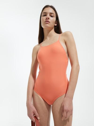 EDITED Badeanzug 'Nanni' in orange, Modelansicht