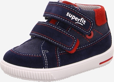SUPERFIT Obuv na prvé kroky 'Moppy' - námornícka modrá / červené, Produkt