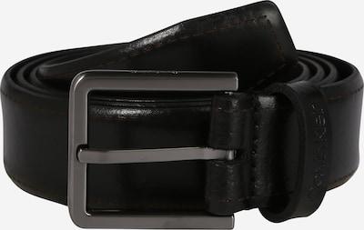 Calvin Klein Gürtel '30MM BROGUE BOMBED' in schwarz, Produktansicht
