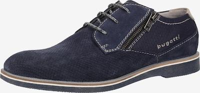 bugatti Chaussure à lacets en bleu marine, Vue avec produit
