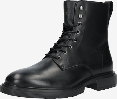 Garment Project Stiefel 'Mili Lace Boot' in schwarz, Produktansicht