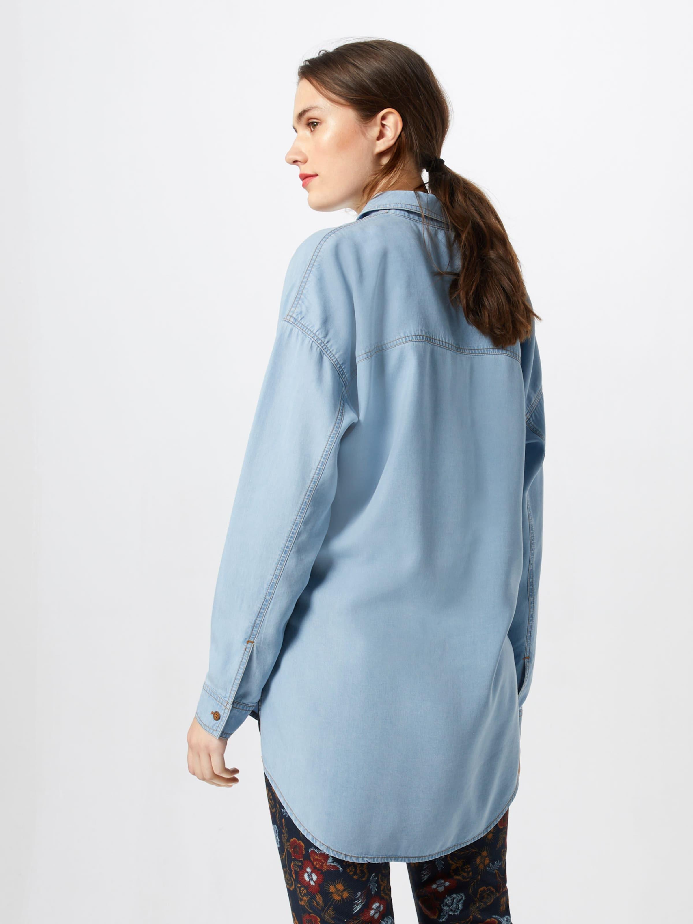 Hellblau Esprit By In Bluse Edc eW29YEDHI