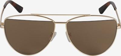 McQ Alexander McQueen Sluneční brýle 'MQ0157S-002 61' - hnědá / zlatá, Produkt
