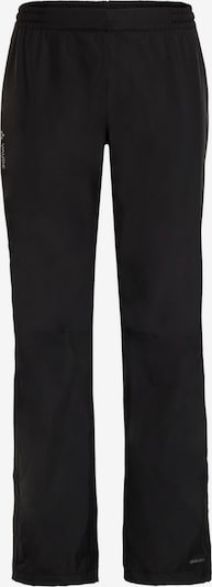 VAUDE Regenhose  'Escape 2.5L' in schwarz, Produktansicht