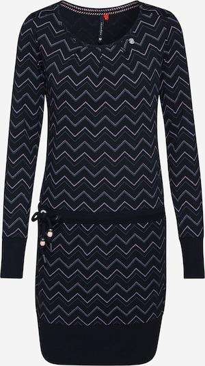 Ragwear Kleid 'ALEXA ZIG ZAG' in schwarz, Produktansicht