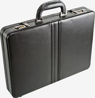 Dermata Aktenkoffer in schwarz, Produktansicht