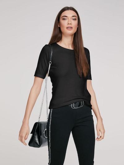 heine Koszulka w kolorze czarnym: Widok z przodu