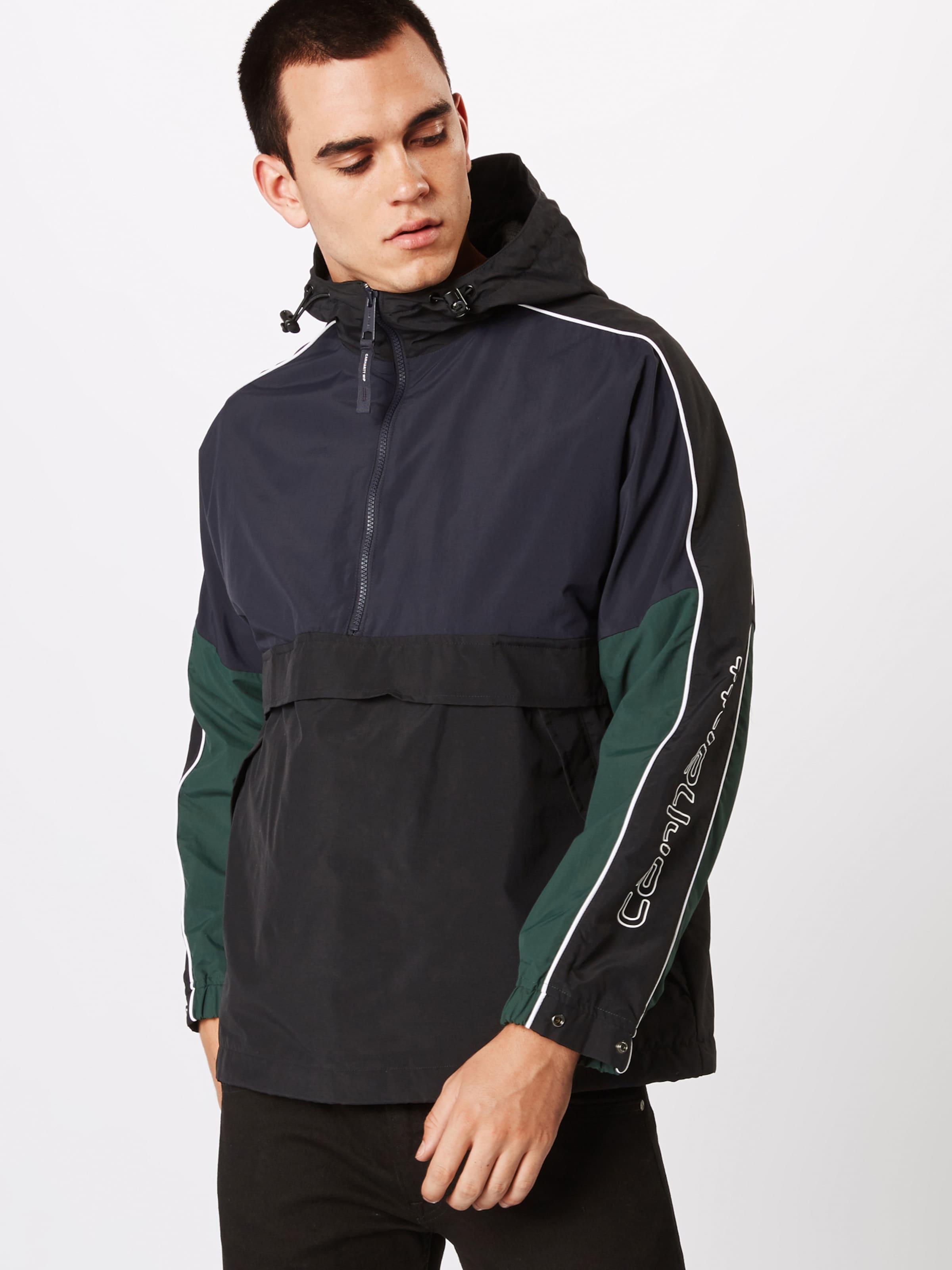 Pullover' Carhartt Jacke In Wip NavyDunkelgrün Schwarz 'terrace 3qARj5Lc4