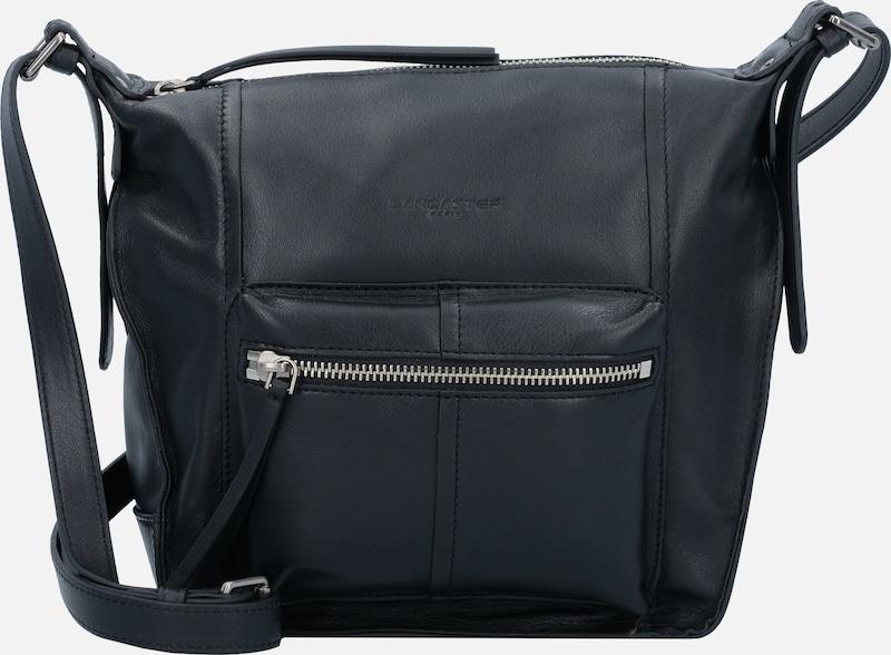 LANCASTER Trotteur Mini Bag Schultertasche Leder 22 cm