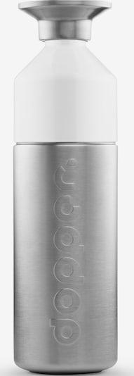 Dopper Steel '800ml' in silber / weiß, Produktansicht