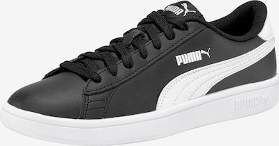 PUMA Brīvā laika apavi 'Smash v2 L' melns / balts, Preces skats