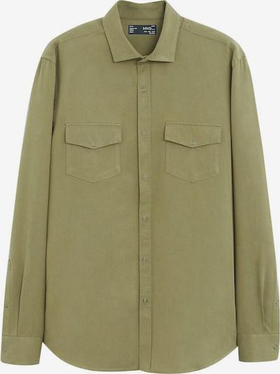 MANGO MAN Hemd rulo in khaki, Produktansicht
