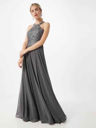 LUXUAR Večerné šaty - sivá, Model/-ka