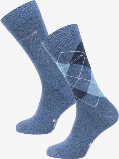 TOM TAILOR 2 Paar Socken in blau, Produktansicht