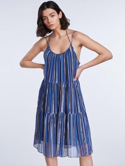SET Kleid in blau / gelb / rosa, Modelansicht