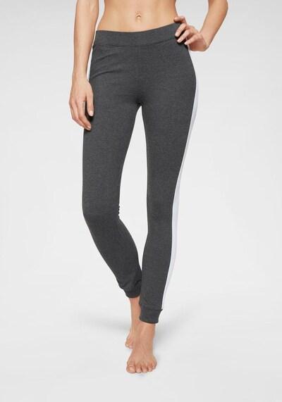 ARIZONA Leggings in graumeliert / lilameliert, Modelansicht