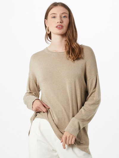 MORE & MORE Pullover in camel, Modelansicht