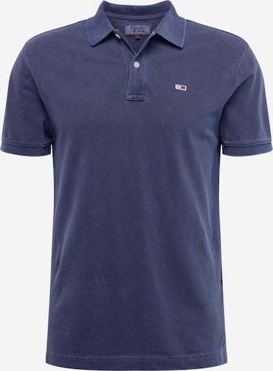 Tommy Jeans Poloshirt 'TJM GARMENT DYE POLO' in dunkelblau, Produktansicht