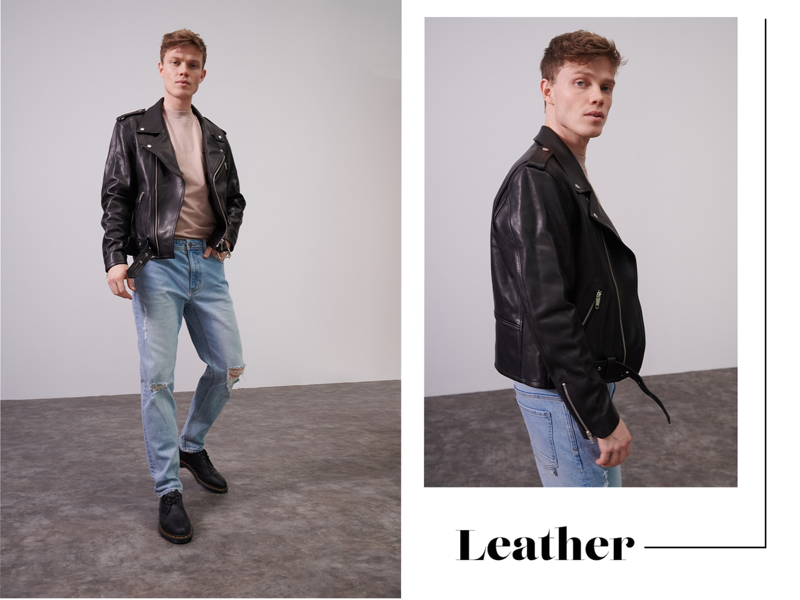 Matthias  - Cool Leather Outfit