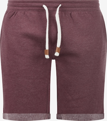 INDICODE JEANS Sweatshorts 'Rion' in Rot