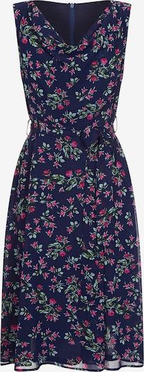 Mela London Poletna obleka | temno modra barva, Prikaz izdelka
