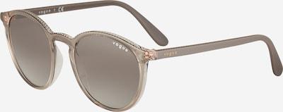 VOGUE Eyewear Sonnenbrille in grau / transparent, Produktansicht