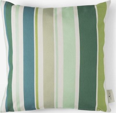 TOM TAILOR Home Kissen mit Streifen-Print in grün, Produktansicht