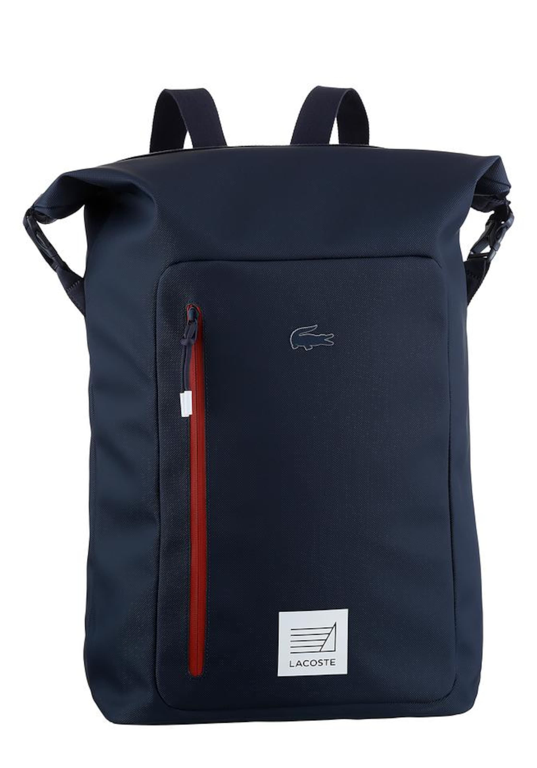 2623d45f329f3 Rucksack In 12 NavyRot 12 Fantaisie   l Lacoste Concept pqMSUzV