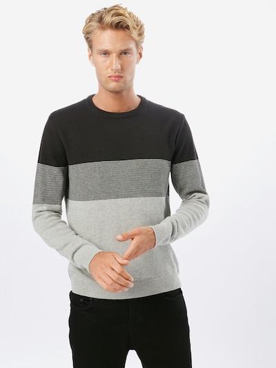 Only & Sons Pullover 'ONSHILBERT' in graphit / hellgrau / graumeliert, Modelansicht