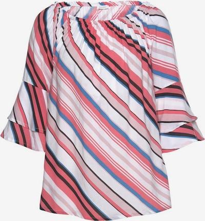 LASCANA Bluzka w kolorze błękitny / grenadynowy / czarny / białym, Podgląd produktu