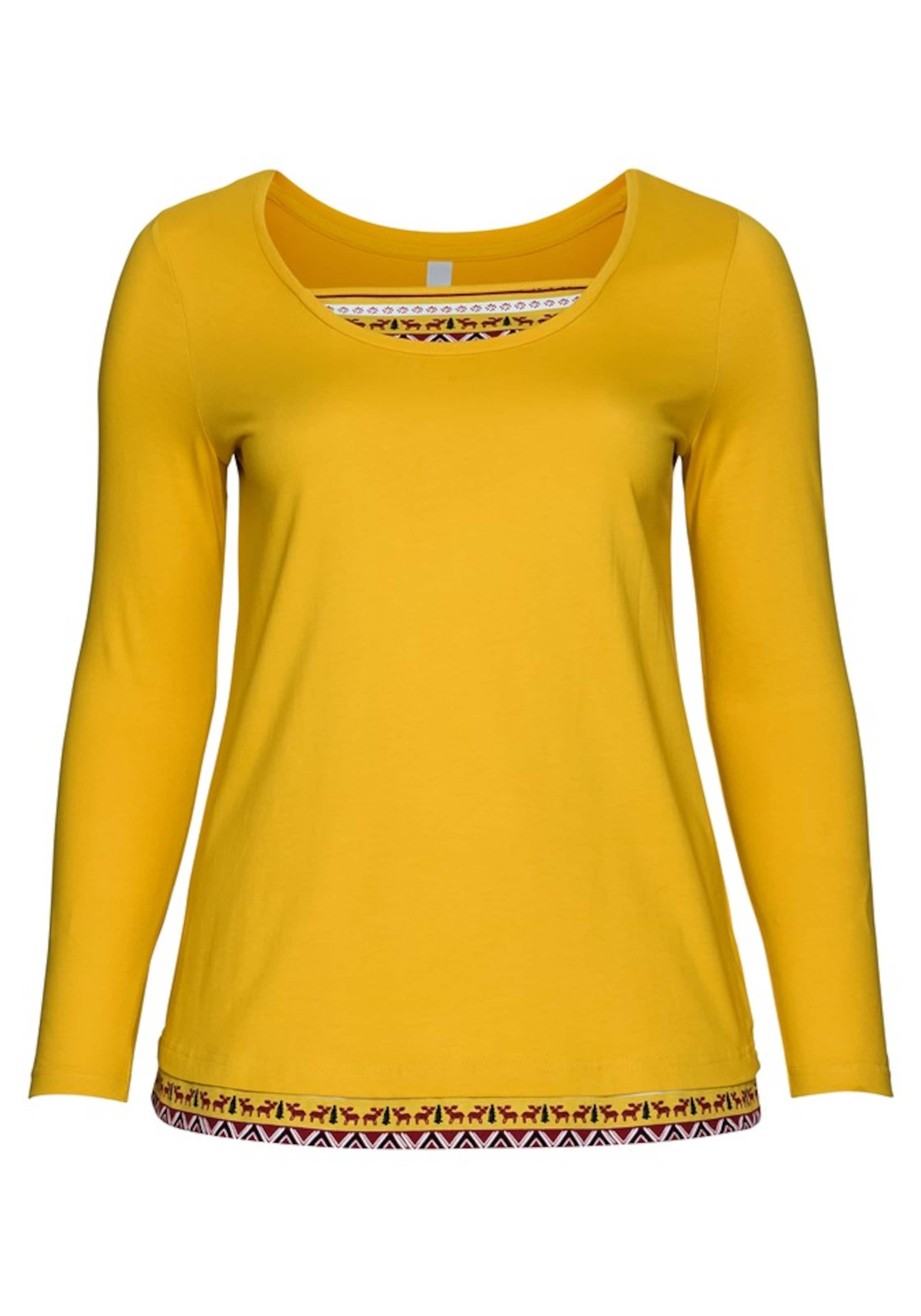 SenfMischfarben Shirt Shirt Sheego Sheego In In 8Ok0PNnwX