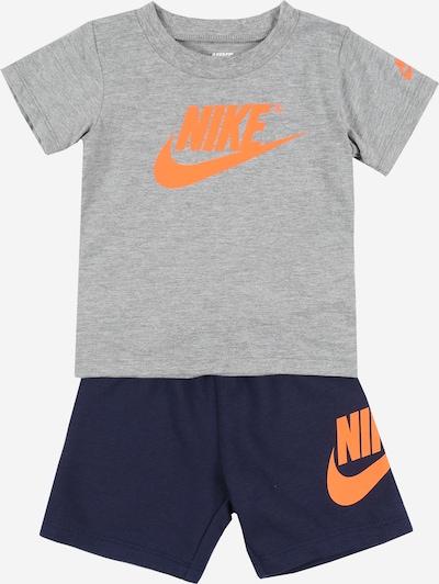 Nike Sportswear Zweiteiler 'NSW FRENCH TERRY SHORT SET' in navy / grau, Produktansicht