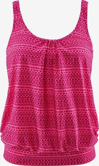 VENICE BEACH Oversize-Tankini-Top 'Spring' in pink / dunkelpink, Produktansicht