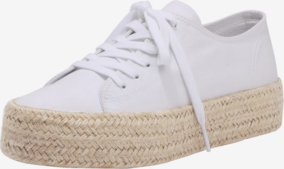 fehér ABOUT YOU Fűzős cipő 'Malia', Termék nézet