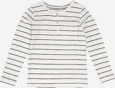 NAME IT Tričko 'Valentin' - černá / bílá, Produkt