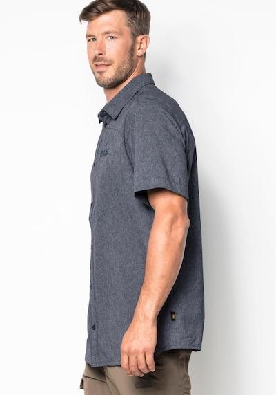 JACK WOLFSKIN Hemd 'Barrel' in taubenblau, Produktansicht