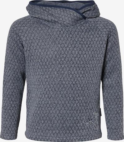 ELKLINE Pullover 'Cabinfever' in kobaltblau / grau / basaltgrau, Produktansicht