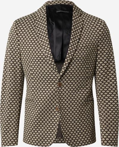 DRYKORN Veste de costume 'HURLEY' en marron / blanc, Vue avec produit