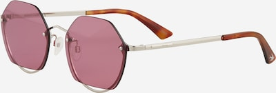McQ Alexander McQueen Sonnenbrille 'MQ0256SA-001 58' in lila / silber, Produktansicht
