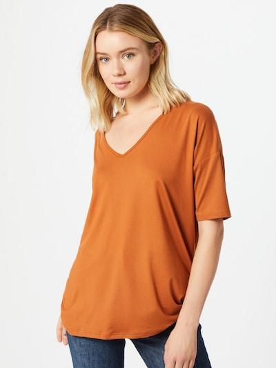 PIECES T-shirt en cognac: Vue de face
