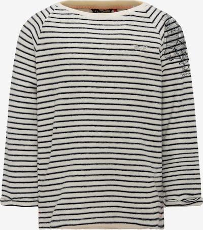 Petrol Industries Sweater in schwarz / naturweiß, Produktansicht