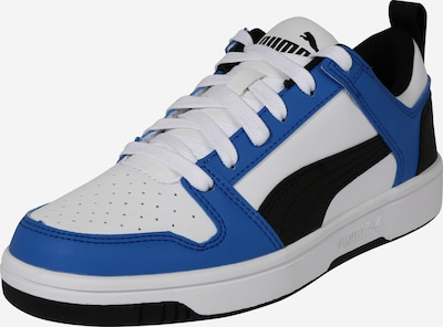 PUMA Sneaker 'Rebound Layup Lo SL' in blau / schwarz / weiß: Frontalansicht