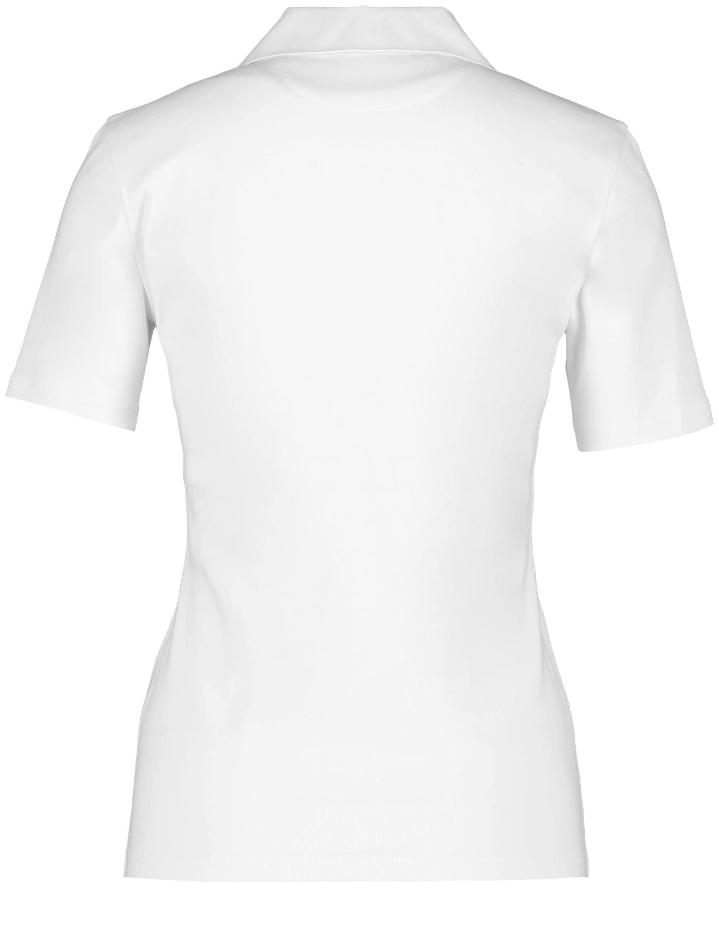 Poloshirt In Gerry Weber Weiß n0vwm8N