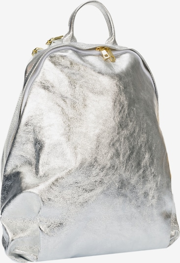 RISA Rucksack in silber, Produktansicht